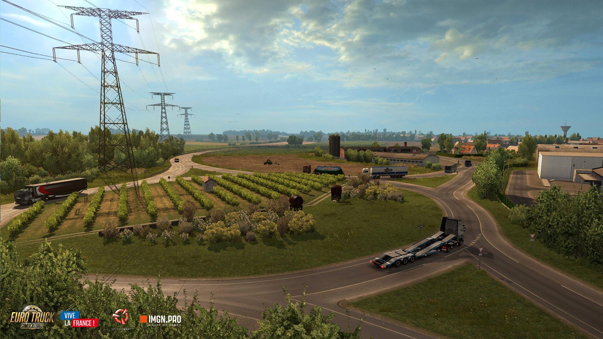 Euro Truck Simulator 2: Vive la France! (2016)